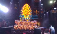bar and nightclub LED DJ booth