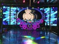 LED DJ booth