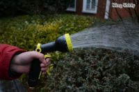 9-pattern plastic water nozzle inset trigger