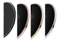 Round Metallic Wireless Charger