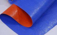 Blue Woven Fabric Reinforced Poly Tarps PE Plastic Tarpaulin Rolls