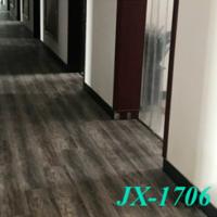 Waterproof Wood grain Flat grain SPC PVC floor tile