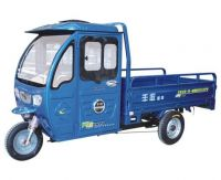 semi closed electric cargo tricycle, loading tricycle vehicle