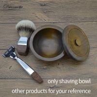 Dishi man Wooden Shaving Bowl Shave Soap Cup man wood shaving Mug