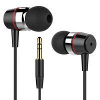 Earphone in-ear earphone super clear metal noise isolating.