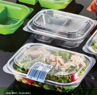 Disposable Food Container /  To-Go Box / Plastic Disposable Container by SEIL