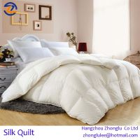 High quality Luxury 100% Mulberry Silk  Quilt comforter