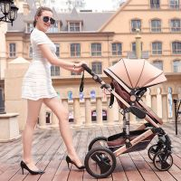2018 New Rotating And High Landscape Baby Stroller in Luxury Design
