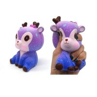High quality wholesale jumbo slow rising squishy deer animal toy