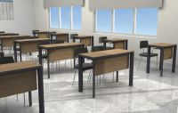 High-quality and commercial school furniture desk from Turkey