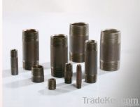 Black Seamless NPT-BSP Pipe Nipples