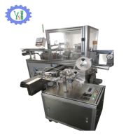 Automatic blue bubble packing&labeling machine