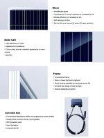300W High Quality Poly PV Solar Module for Solar Power System