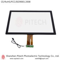 Commercial Display USB Interface 27 inches Capacitive Multi Touch Screen Panel