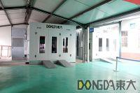 Spray booth DDE-2