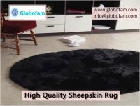 Globofam - Trendy Sheepskin Rug at Affordable Cost