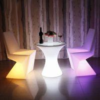 Modern design outdoor party garden illuminating color changing furniture garden sofa