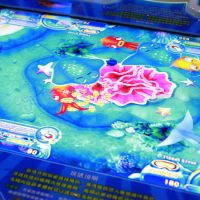 Hot Sales Amusement Equipment Fishing Simulator Machine Coin Operated Fishing Game Machine