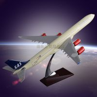 Airbus340 SAS Airlines Model Resin crafts Customized Gift Aircraft Model