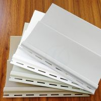 Cheap price fireproof PVC siding panels for exterior walls