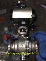 Worm Gear Fixed Ball Valve