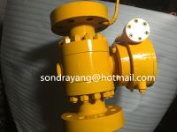 500lb Three Pieces Forged Trunnion Ball Valve