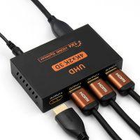 Hdmi Splitter 1*4 High Resolution 2K*4K 3D Full Hd Tv 1 Input 4 Output Hdmi Hub Switcher Adapter