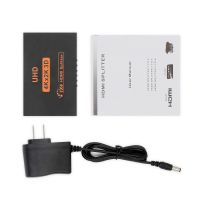 Hdmi Splitter 1*4 High Resolution 2K*4K 3D Full Hd Tv 1 Input 4 Output Hdmi Hub Switcher Adapter