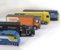 Truck Style Custom PVC Power Bank