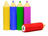 Pencil Styles PVC Power Bank
