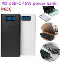 """2018 new trend P65C type c mobile laptop power bank 20000mah with QC3.0 PD for new macbook pro 15"""""""