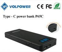 Newest producFast charging t type c 15600mah capacity 2016 menu power banks