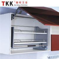 Kitchen Cabinet Elevator Pull Down Shelf Storage Basket