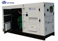 375kVA Soundproof Diesel Generator 50Hz 300kW with 6 Cylinder in Line