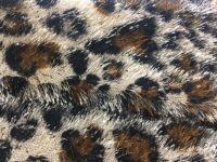 Pine needle polyester plush weft knit fabric fashion alien type plush