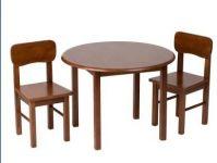 wood children table