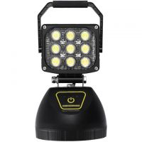 Portable Rechargeable LED Scene/Area Work Light W/Heavy Duty Magnetic Base