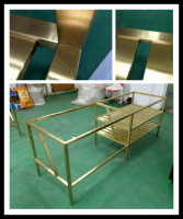 commercial Metal bathroom hotel vanity for hotel project hotel furniture