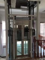 Glass Home Lift For Villa Use