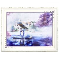 Chinese Painting & Calligraphy Handicraft Cross Stitch