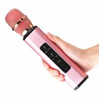 portable bluetooth speaker can use for wireless karaoke microphone