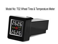 Tires Pressure & temperature real time monitor system