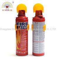 500ml/1000ml aerosol mini car portable foam fire extinguisher spray for car