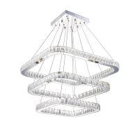 Bedroom Luster Restaurant LED Modern Stainless Steel Pendant Lamp K9 LED Crystal Pendant Light Lamp Lighting