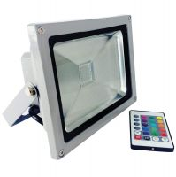 20W High quality ip65 outdoor high power rgb 20w led flood light led rgb projector Light Lamp Lighting