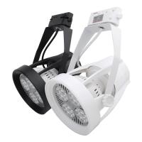 CE RHOS SAA certified par30 led track light 24w rail fixture flat e27 par 30 spotlight lighting