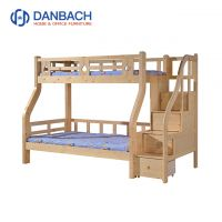 Wood Kids Bunk Bed For Boys With Drawers Children's Furniture Double Decker Bed