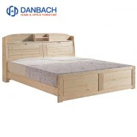 Danbach Adjustable Height Wholesale Solid Wood Bed Factory Direct Kids Bedroom Furniture
