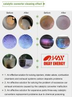 Catalytic converter cleaning machine VCS2000 exhaust system fuel saving and carbon clean diesel DPF cleaner