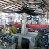 AUTOMATIC VERTICAL DRUM BODY FORMING MACHINE